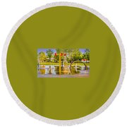 Playground Round Beach Towel