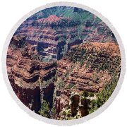 Point Imperial View Round Beach Towel
