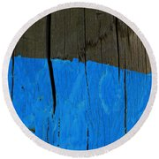 Pole Art 37 Round Beach Towel
