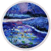 Pond 563111 Round Beach Towel