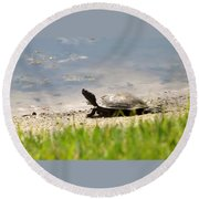Pond's Edge Round Beach Towel