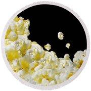 Popcorn Round Beach Towel
