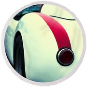 Porsche 550 Round Beach Towel