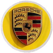Porsche  Round Beach Towel