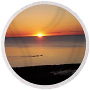 Port Austin Round Beach Towel