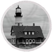 Portland Headlight 14221 Round Beach Towel
