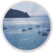 Porto Bay 4 Round Beach Towel