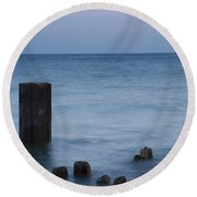 Posts Round Beach Towel
