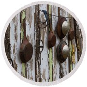 Pots And Pans Round Beach Towel