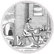 Potter, 1659 Round Beach Towel