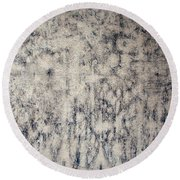 Pousette Dart's White Garden And Sky Round Beach Towel