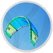 Power Kite Round Beach Towel