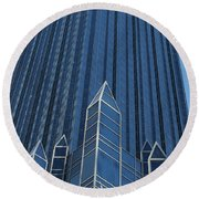 Ppg Place Pittsburgh Round Beach Towel