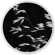 Prarie Grass Round Beach Towel