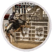 Prescott Az Rodeo Round Beach Towel