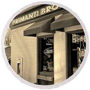 Primanti Brothers Pittsburgh  Round Beach Towel