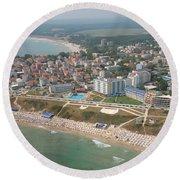 Primorsko Round Beach Towel