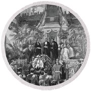 Prince Alfred (1874-1899) Round Beach Towel