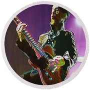 Prince Round Beach Towel
