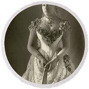 Princess Beatrice (1857-1944) Round Beach Towel