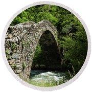 Principality Of Andorra. Pont De La Round Beach Towel