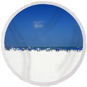 Pristine Clearwater Round Beach Towel