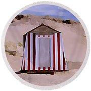 Privacy Round Beach Towel
