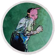 Professor Pyg Round Beach Towel