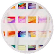 Profound Thought Segmented Round Beach Towel