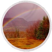 Promise And Hope Cape Breton Round Beach Towel