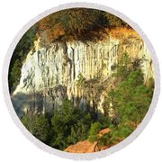 Providence Canyon State Park Round Beach Towel