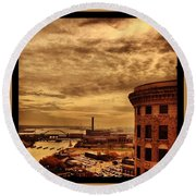 Providence Viewpoint Round Beach Towel