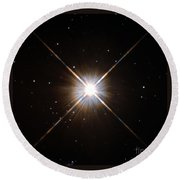 Proxima Centauri Round Beach Towel by Science Source