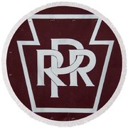 PRR Round Beach Towel