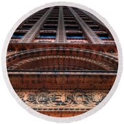Prudential Building Round Beach Towel