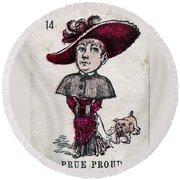 Prue Proud Round Beach Towel