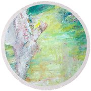 Psychedelic Hitchhiker Round Beach Towel
