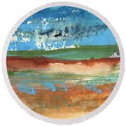 Puicheric 03 Round Beach Towel