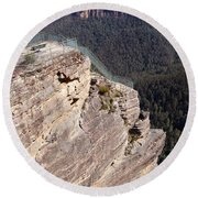 Pulpit Rock - Australia Round Beach Towel