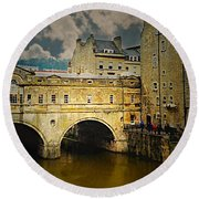 Pulteney Bridge Round Beach Towel