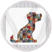 Puppy Dog Showcasing Navinjoshi Gallery Art Icons Buy Faa Products Or Download For Self Printing  Na Round Beach Towel