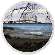 Pure Michigan Round Beach Towel