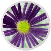 Purple Haze - Photopower 2858 Round Beach Towel