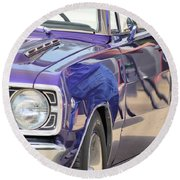 Purple Passion Classic Round Beach Towel