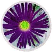 Purple Passion - Photopower 1605 Round Beach Towel