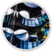 Pwc Building London Round Beach Towel