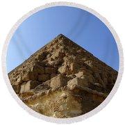 Pyramids Of Giza 20 Round Beach Towel