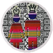 Queen And King Round Beach Towel