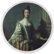 Queen Charlotte (1744-1818) Round Beach Towel