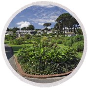 Queen Mary Gardens - Falmouth Round Beach Towel